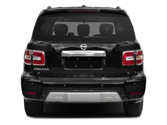 2018 Nissan Armada Pictures Armada 4x4 SV photos rear view