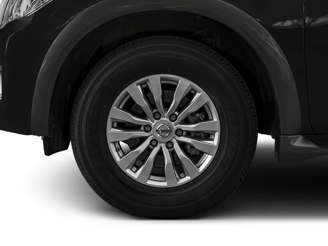 2018 Nissan Armada Pictures Armada 4x4 SV photos wheel