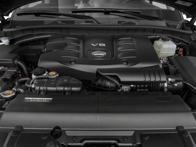 2018 Nissan Armada Pictures Armada 4x4 SV photos engine