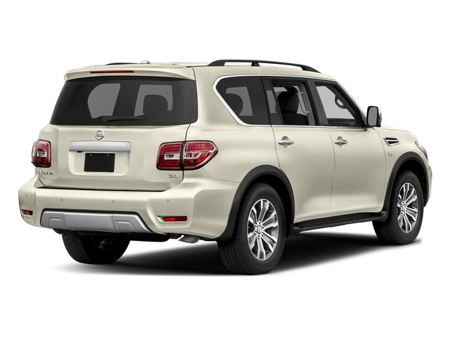 2018 Nissan Armada Pictures Armada 4x2 SL photos side rear view