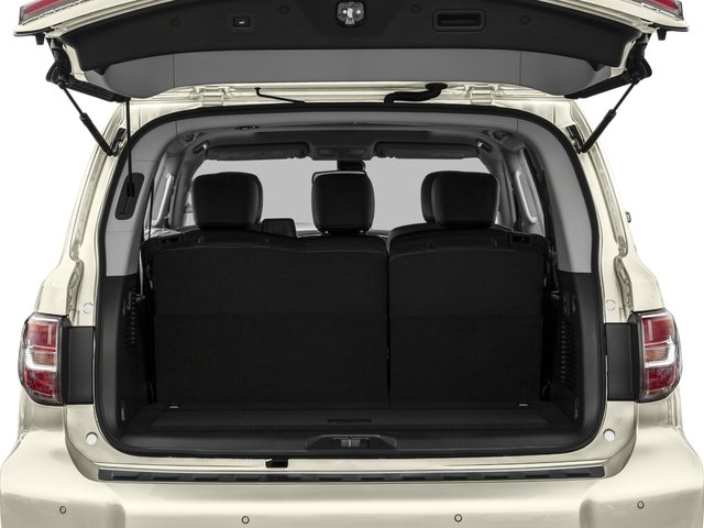 2018 Nissan Armada Pictures Armada 4x2 SL photos open trunk