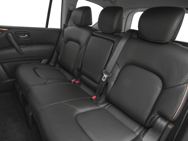 2018 Nissan Armada Pictures Armada 4x2 SL photos backseat interior