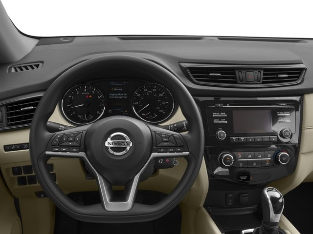 2018 Nissan Rogue Base Price FWD S Pricing driver's dashboard