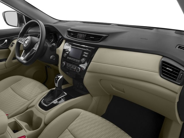2018 Nissan Rogue Base Price FWD S Pricing passenger's dashboard