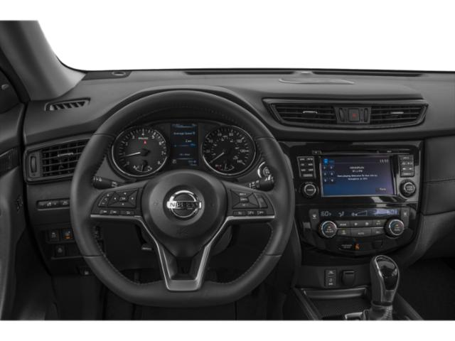 2018 Nissan Rogue Pictures Rogue Utility 4D SV 2WD I4 photos driver's dashboard