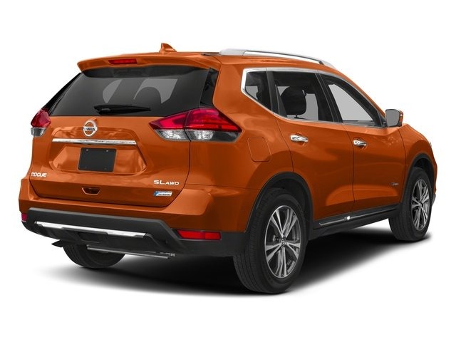 2018 Nissan Rogue Prices and Values Utility 4D SV AWD I4 Hybrid side rear view