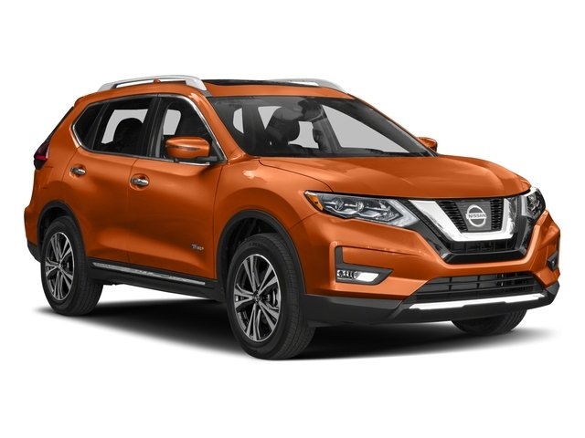 2018 Nissan Rogue Prices and Values Utility 4D SV AWD I4 Hybrid side front view