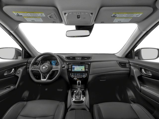 2018 Nissan Rogue Prices and Values Utility 4D SV AWD I4 Hybrid full dashboard