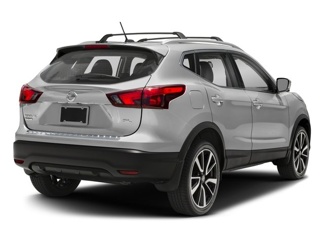 2018 Nissan Rogue Sport Base Price 2018.5 AWD SL Pricing side rear view