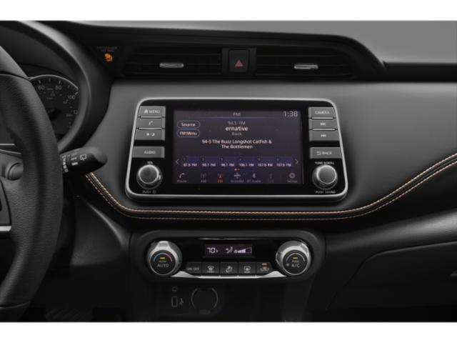 2018 Nissan Kicks Prices and Values Utility 4D SR 2WD stereo system