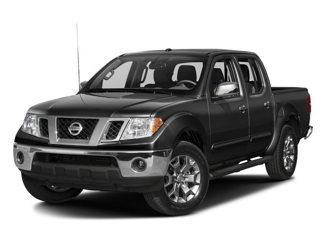 2018 Nissan Frontier Pictures Frontier Crew Cab SL 4WD photos side front view