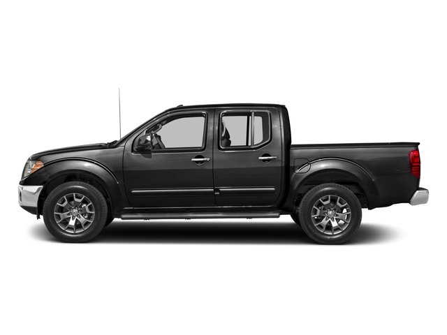 2018 Nissan Frontier Pictures Frontier Crew Cab SL 4WD photos side view