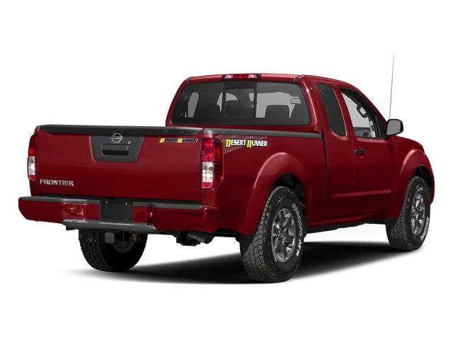 2018 Nissan Frontier Base Price King Cab 4x2 Desert Runner Auto Pricing side rear view