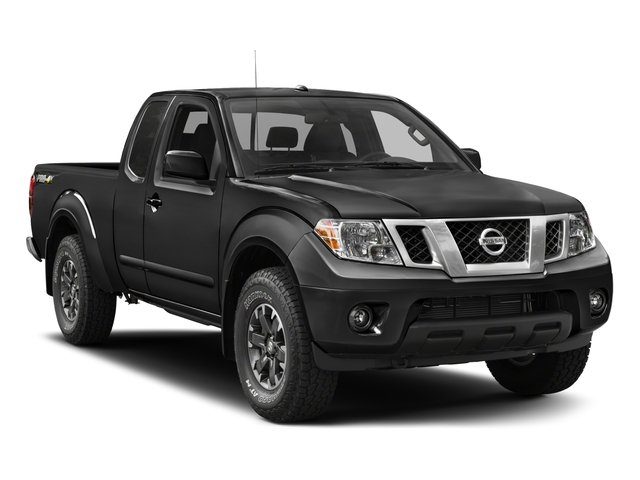 2018 Nissan Frontier Prices and Values King Cab PRO-4X 4WD side front view