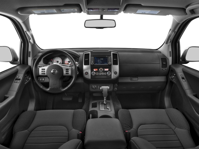 2018 Nissan Frontier Prices and Values King Cab PRO-4X 4WD full dashboard