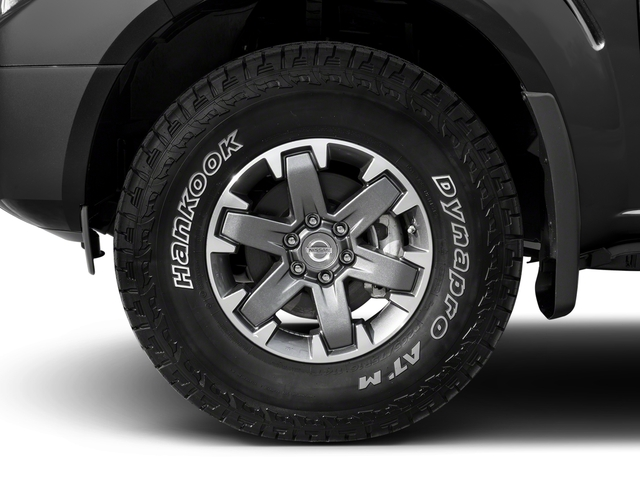 2018 Nissan Frontier Prices and Values King Cab PRO-4X 4WD wheel