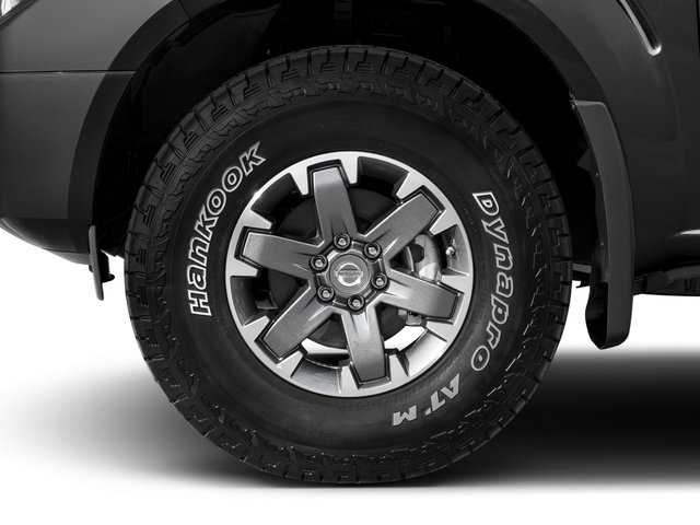 2018 Nissan Frontier Base Price King Cab 4x4 PRO-4X Auto Pricing wheel