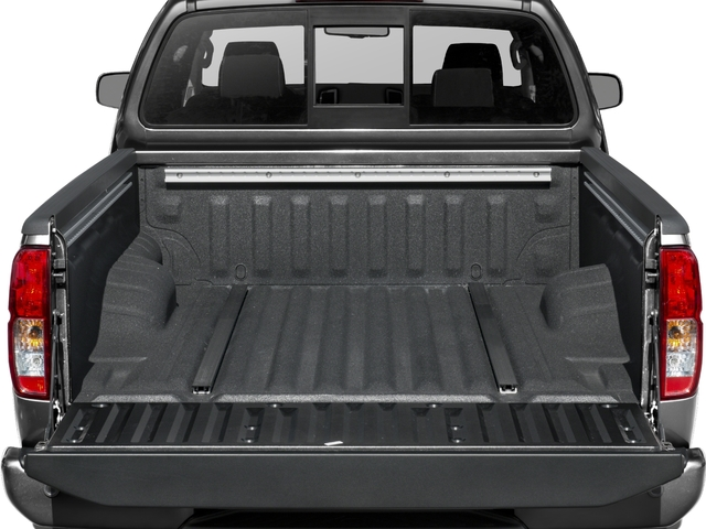 2018 Nissan Frontier Prices and Values King Cab PRO-4X 4WD open trunk