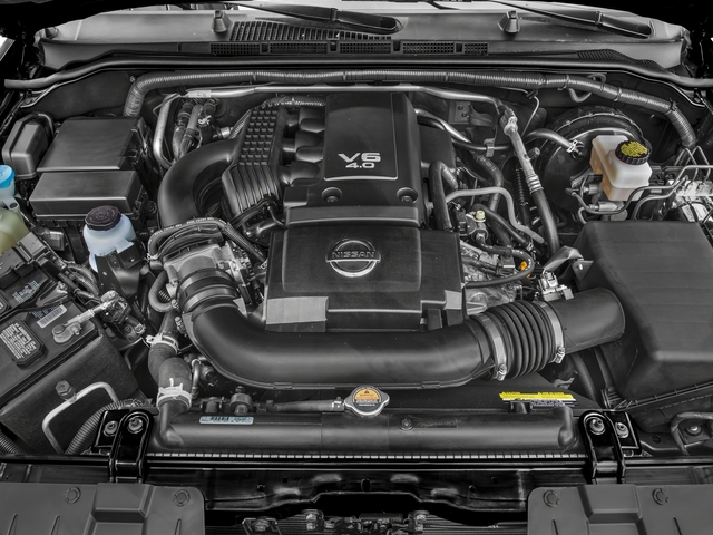 2018 Nissan Frontier Prices and Values King Cab PRO-4X 4WD engine
