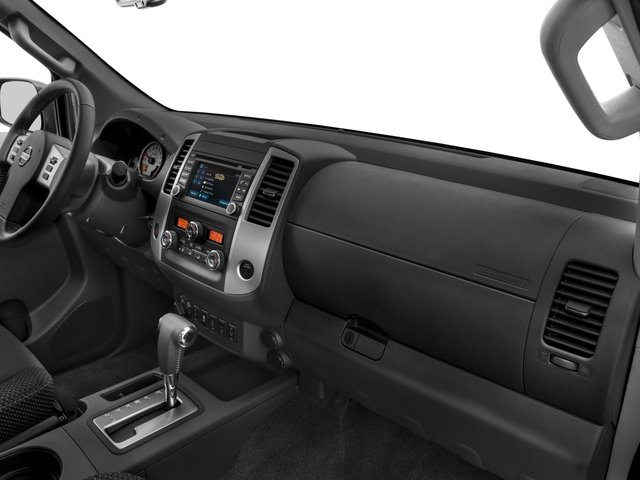 2018 Nissan Frontier Prices and Values King Cab PRO-4X 4WD passenger's dashboard