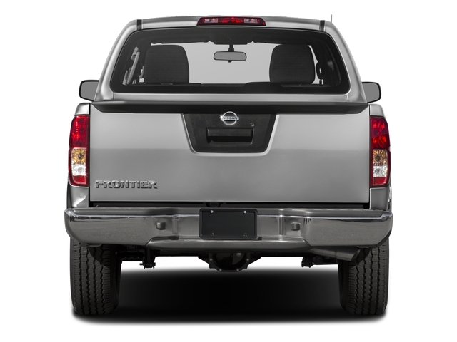 2018 Nissan Frontier Pictures Frontier Crew Cab 4x4 S Auto photos rear view