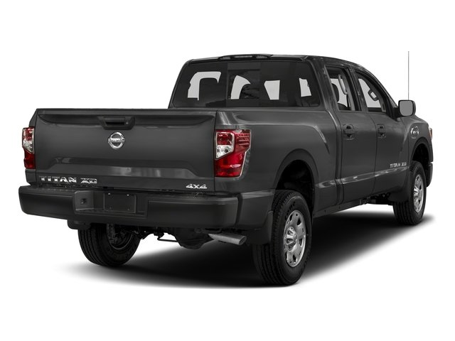 2018 Nissan Titan XD Base Price 4x4 Diesel Crew Cab S Pricing side rear view