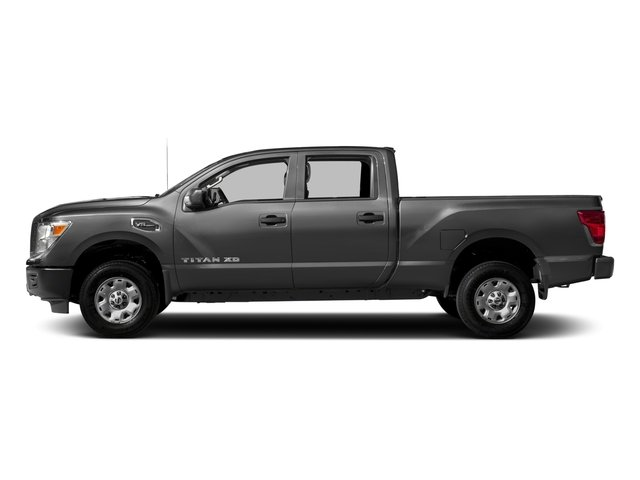 2018 Nissan Titan XD Base Price 4x4 Diesel Crew Cab S Pricing side view