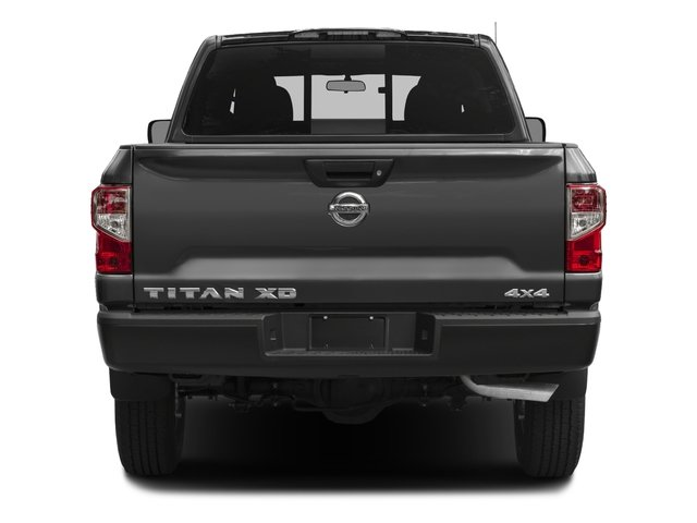 2018 Nissan Titan XD Base Price 4x4 Diesel Crew Cab S Pricing rear view