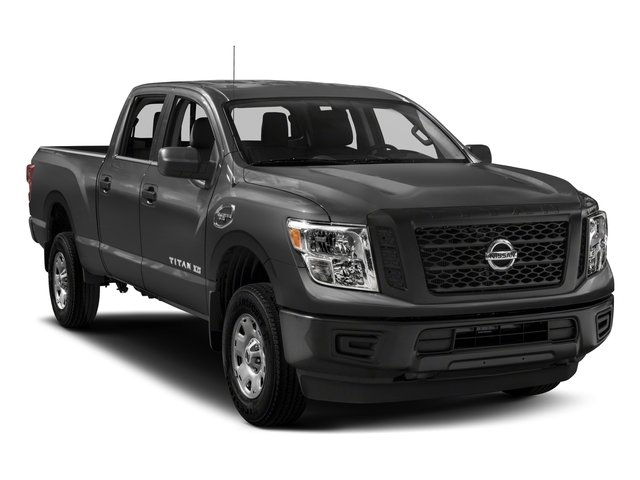 2018 Nissan Titan XD Base Price 4x4 Diesel Crew Cab S Pricing side front view