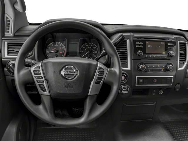 2018 Nissan Titan XD Base Price 4x4 Diesel Crew Cab S Pricing driver's dashboard