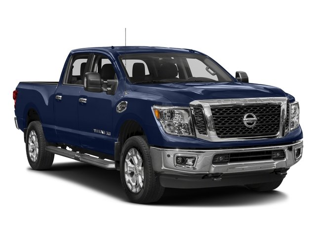 2018 Nissan Titan XD Base Price 4x4 Diesel Crew Cab SV Pricing side front view