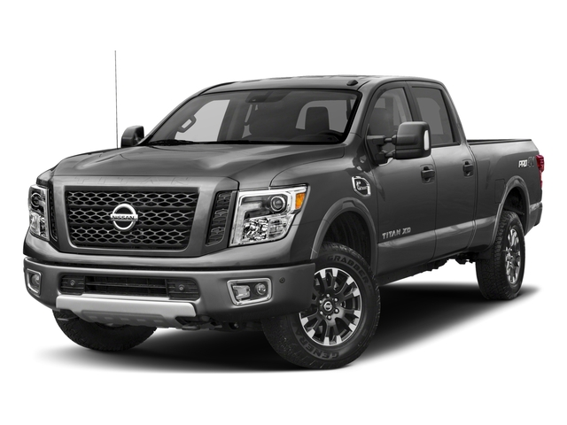 2018 Nissan Titan XD Base Price 4x4 Diesel Crew Cab PRO-4X Pricing side front view