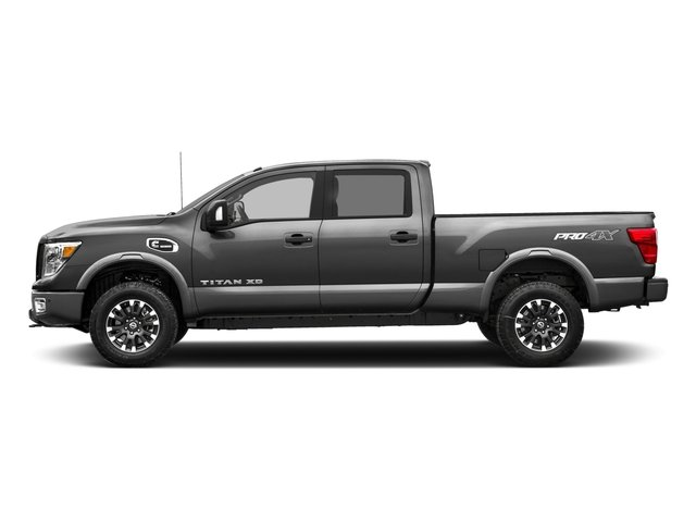 2018 Nissan Titan XD Base Price 4x4 Diesel Crew Cab PRO-4X Pricing side view