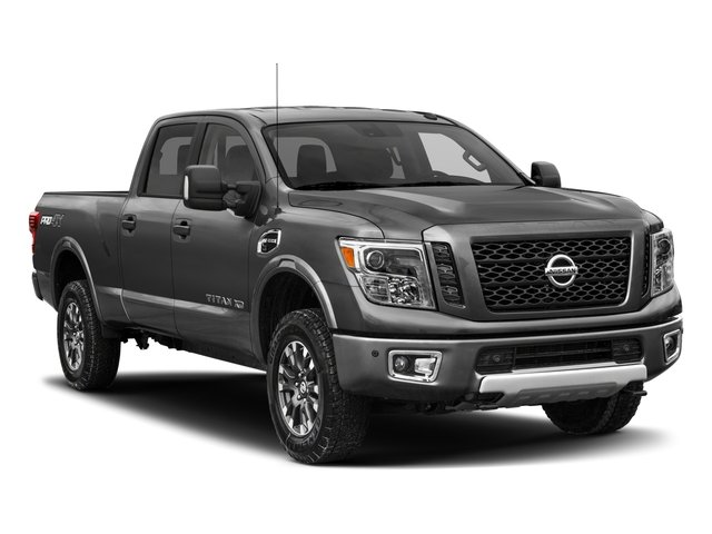 2018 Nissan Titan XD Prices and Values Crew Cab PRO-4X 4WD side front view