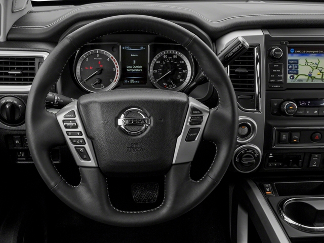 2018 Nissan Titan XD Base Price 4x4 Diesel Crew Cab PRO-4X Pricing driver's dashboard