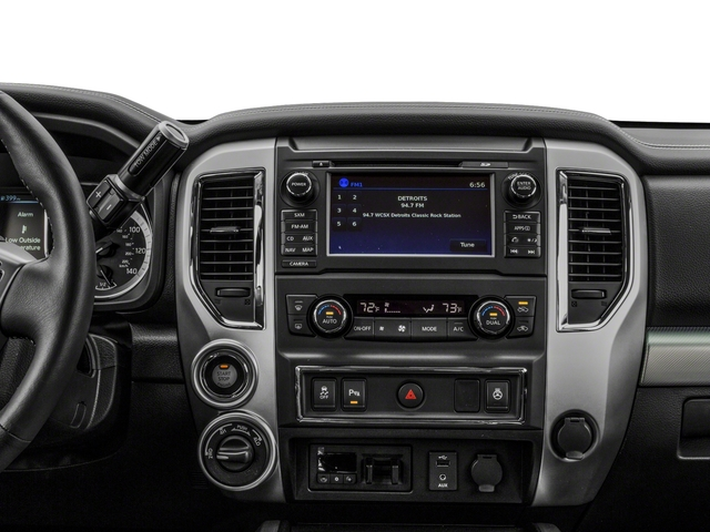 2018 Nissan Titan XD Base Price 4x4 Gas Crew Cab PRO-4X Pricing stereo system