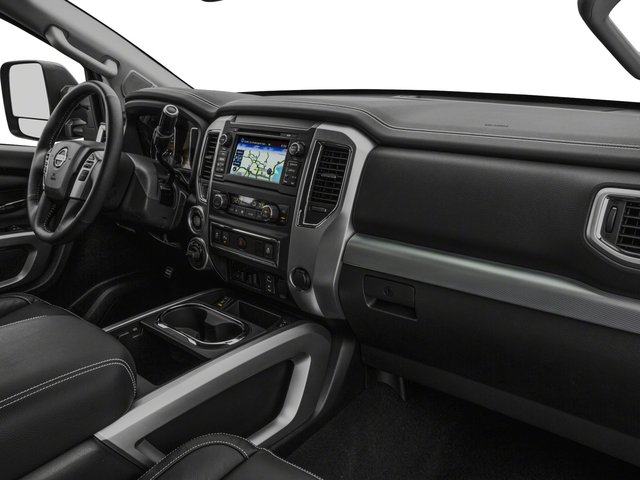 2018 Nissan Titan XD Base Price 4x4 Diesel Crew Cab PRO-4X Pricing passenger's dashboard