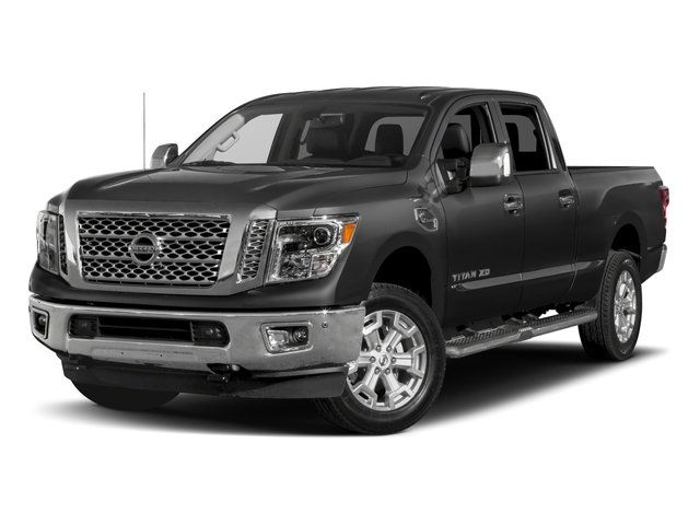 2018 Nissan Titan XD Base Price 4x2 Gas Crew Cab SL Pricing side front view