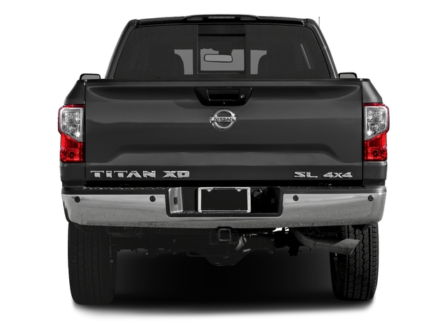 2018 Nissan Titan XD Pictures Titan XD 4x2 Gas Crew Cab SL photos rear view