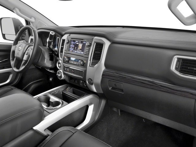 2018 Nissan Titan XD Base Price 4x2 Gas Crew Cab SL Pricing passenger's dashboard