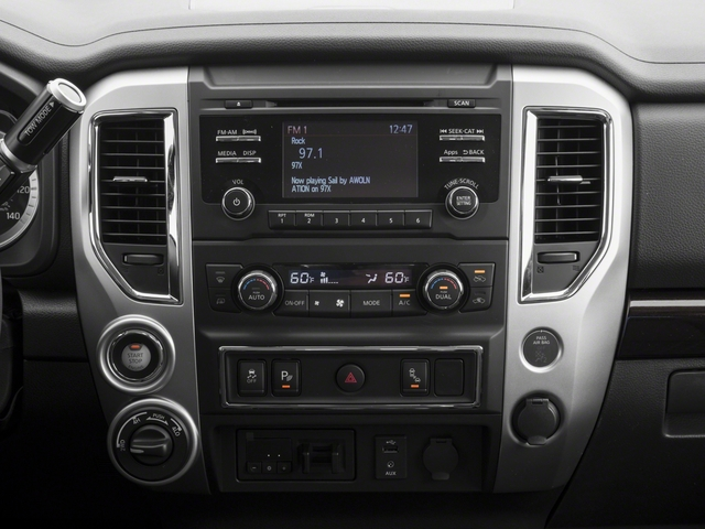 2018 Nissan Titan XD Base Price 4x2 Gas Single Cab S Pricing stereo system