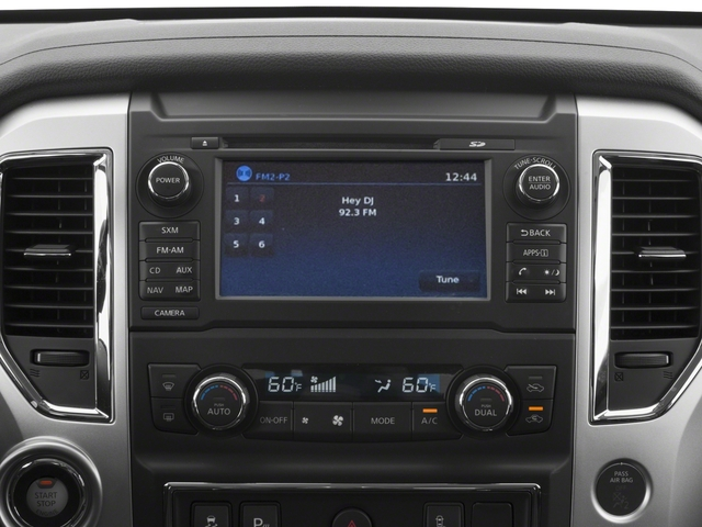 2018 Nissan Titan XD Base Price 4x2 Gas King Cab SV Pricing stereo system