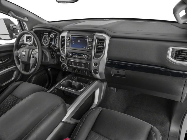 2018 Nissan Titan XD Base Price 4x2 Gas King Cab SV Pricing passenger's dashboard