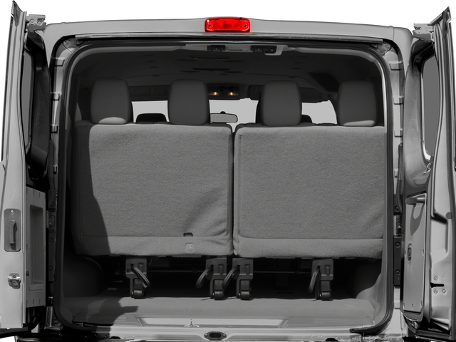 2018 Nissan NV Passenger Pictures NV Passenger V6 HD S photos open trunk