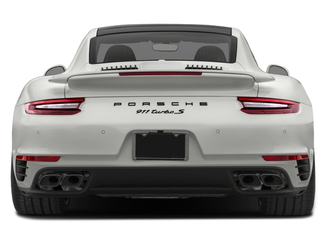 2018 Porsche 911 Base Price Turbo S Coupe Pricing rear view