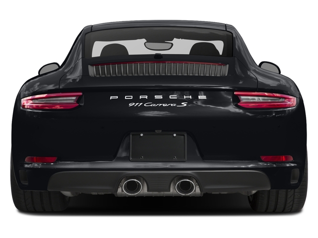 2018 Porsche 911 Base Price Carrera S Coupe Pricing rear view