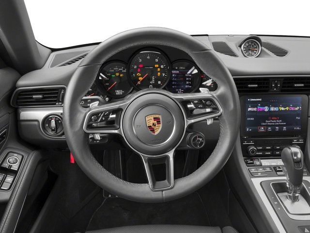 2018 Porsche 911 Prices and Values Coupe 2D 4 AWD H6 Turbo driver's dashboard