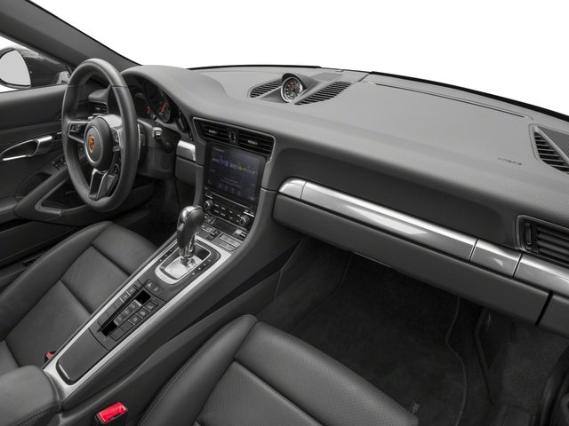 2018 Porsche 911 Prices and Values Coupe 2D 4 AWD H6 Turbo passenger's dashboard