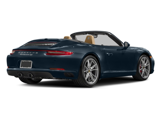 2018 Porsche 911 Base Price Carrera 4s Cabriolet Pricing Side Rear View