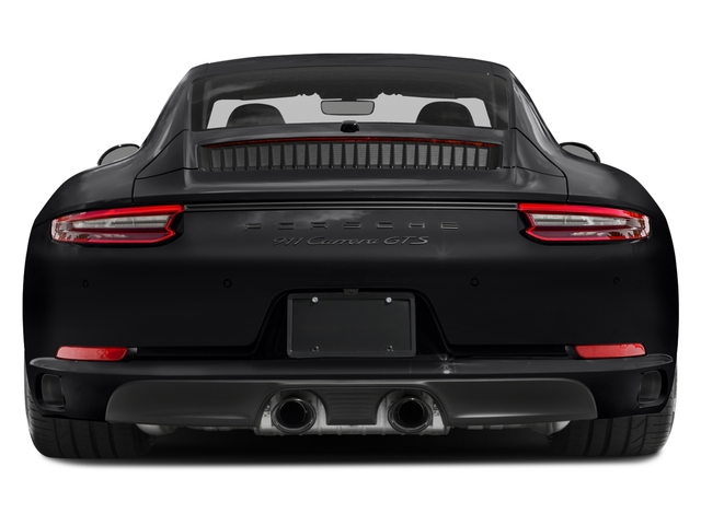2018 Porsche 911 Base Price Carrera GTS Coupe Pricing rear view